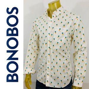 Bonobos Standard Fit Pineapple Long Sleeve Shirt